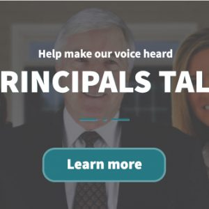 Welcome to Principals Talk