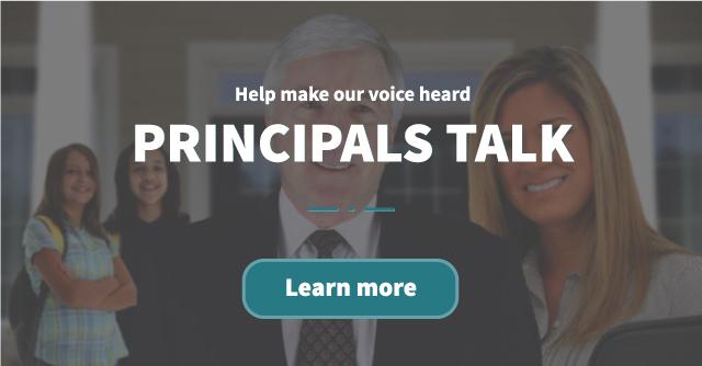 Principals Talk